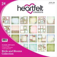 "Heartfelt Creations Double-Sided Paper Pad 12""X12"" 24/Pkg NOTM120239"