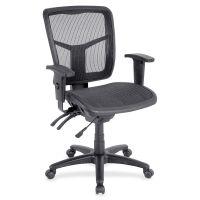 Lorell Mid-Back Swivel Mesh Office Chair LLR86904