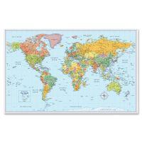 Rand McNally M-Series Full-Color World Map, 50 x 32 AVTRM528012754