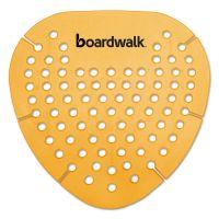 Boardwalk Gem Urinal Screen, Lasts 30 Days, Orange, Mango Fragrance, 12/Box BWKGEMMAN