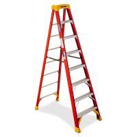 Werner 8' Fiberglass Step Ladder WER6208
