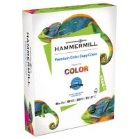 Hammermill Copier Digital Cover Stock, Extra Smooth, 80 lb., 8 1/2 x 11, Photo White, 250 Sheets HAM120023