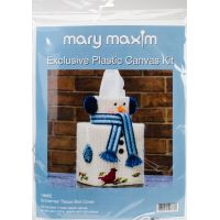 "Mary Maxim Plastic Canvas Tissue Box Kit 5"" NOTM052492"