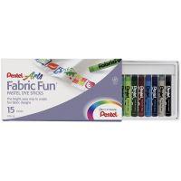 Fabric Fun Pastel Dye Sticks 15/Pkg NOTM319224