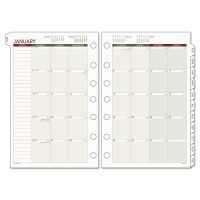 AT-A-GLANCE Day Runner Monthly Planning Pages, 5 1/2 x 8 1/2, 2019 DRN061685Y
