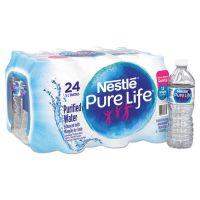 Nestlé Pure Life Purified Water, 16.9 oz Bottle, 24/Carton NLE101264CT