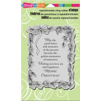 """Stampendous Cling Stamp 7.75""""X4.5"""" NOTM018193"""