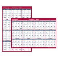 AT-A-GLANCE Vertical/Horizontal Wall Calendar, 24 x 36, 2019 AAGPM21228