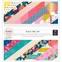 "Pink Paislee Single-Sided Paper Pad 6""X6"" 36/Pkg NOTM343231"