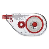 "Universal Side-Application Correction Tape, Non-Refillable, 1/5"" x 393"", 10/Pack UNV75612"