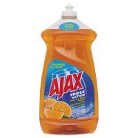 Ajax Dish Detergent, Liquid, Antibacterial, Orange, 52 oz, Bottle CPC49860