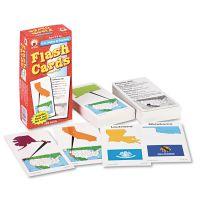 Carson-Dellosa Publishing Flash Cards, U.S. States and Capitals, 3w x 6h, 109/Pack CDPCD3913