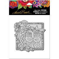 "Stampendous Laurel Burch Cling Stamp 6.5""X4.5"" NOTM021638"