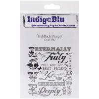 """IndigoBlu Cling Mounted Stamp 5""""X4"""" NOTM317996"""