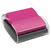 Post-it Pop-up Notes Super Sticky Wrap Dispenser, For 3 x 3 Pads, Black/Clear MMMWD330BK