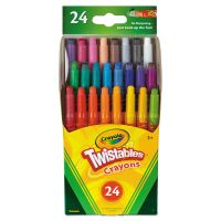 Crayola Twistables Mini Crayons, 24 Colors/Pack CYO529724