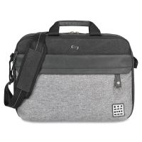 "Solo Urban Carrying Case (Briefcase) for 15.6"" Notebook - Black, Gray USLUBN3404"