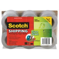 "Scotch Sure Start Refill Rolls for DP1000 Easy Grip Tape Dispenser, 1.88"" x 900"", 6/PK MMMDP1000RF6"