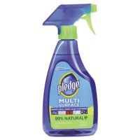 Pledge Multi-Surface Cleaner, Clean Citrus Scent, 16oz Trigger Bottle, 6/Carton SJN644973