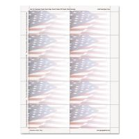 Geographics Flag Design Business Suite Cards, 3 1/2 x 2, 65 lb Cardstock, 250 Cards/Pack GEO47378S