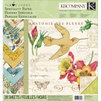"""Foliage Specialty Paper Pad 12""""X12"""" NOTM017962"""