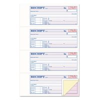 TOPS Money/Rent Receipt Books, 2-3/4 x 7 1/8, Three-Part Carbonless, 100 Sets/Book TOP46808