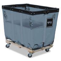 Royal Basket Trucks Spring Lift for R16GGXLNN 16-Bushel Liner, 24 x 36, Vinyl/Steel, Gray RBTR16GGXSLN