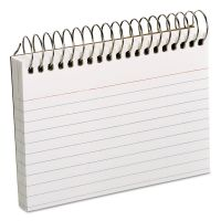 Oxford Spiral Index Cards, 3 x 5, 50 Cards, White OXF40282