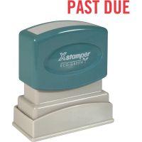 Xstamper PAST DUE Title Stamp XST1362