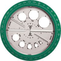 Helix Angle and Circle Protractor HLX36002