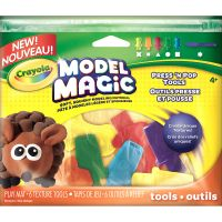 Crayola Model Magic Press 'N Pop Tools 6/Pkg NOTM155870