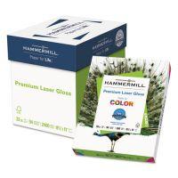 Hammermill Color Laser Gloss Paper, 94 Brightness, 32 lb, 8 1/2 x 11, White, 300 Sheets/Pack HAM163110