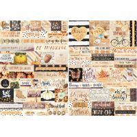 Amber Moon Word Sticker Sheet NOTM091849