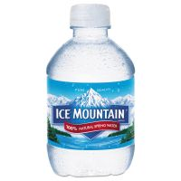 Ice Mountain Natural Spring Water, 8 oz Bottle, 48/Carton NLE967705