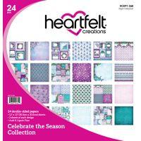 "Heartfelt Creations Double-Sided Paper Pad 12""X12"" 24/Pkg NOTM396916"
