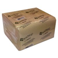 RapidNap Paper Napkins, Natural, Interfolded, 1-Ply, 13 x 8 1/2, 500/PK, 12 PK/CT RSW31314