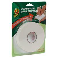 "Duck Permanent Foam Mounting Tape, 3/4"" x 15ft, White DUCHU156"