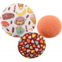 Fabricraft - Fabric Covered Buttons 8/Pkg NOTM091331
