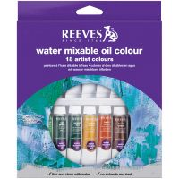 Reeves Water Mixable Oil Paint Set NOTM135740
