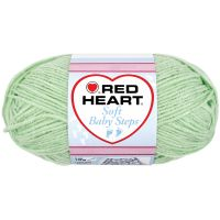 Red Heart Soft Baby Steps Yarn - Baby Green NOTM363515