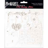 "49 And Market Archival Chipboard 6""X6"" NOTM236343"