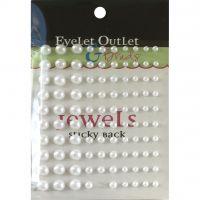 Bling Self-Adhesive Pearls Multi-Size 100/Pkg NOTM413086
