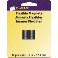 ProMag Flexible Round Magnets NOTM207452