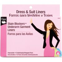 Stain Blockers Underarm Garment Liners 6 Pairs NOTM103565