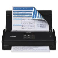 Brother ImageCenter ADS-1000W Compact - Color - Desktop Scanner with Duplex and Wireless Networking SYNX3629540
