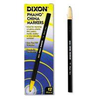 Dixon China Marker, Black, Dozen DIX00077