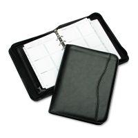 Day-Timer Avalon Simulated Leather Starter Set, 5 1/2 x 8 1/2, Black DTM82631