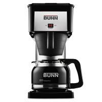 BUNN 10-Cup Velocity Brew BX Coffee Brewer, Black, Stainless Steel BUNBXB