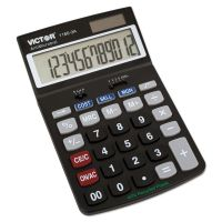 Victor 1180-3A Antimicrobial Desktop Calculator, 12-Digit LCD VCT11803A