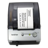 "Brother QL-500 Affordable Label Printer, 50 Labels/Min, 5-7/10""w x 6""d x 7-4/5""h BRTQL500"